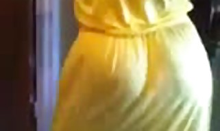 Gigantic Caboose Mummy In Yellow Dress Dancing