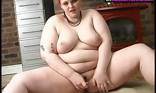 mischievous luxurious meaty Plumper nails herself 1