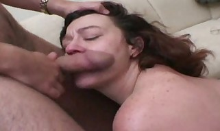 Plumper gets a superb Man-meat Pulverize