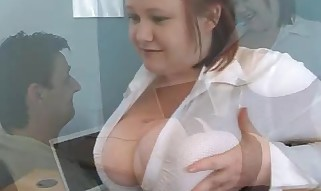Huge Melons Boss Nikki Penalizes Porn Watcher