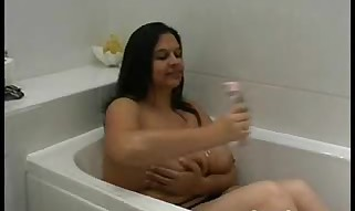 British Indian with large baps