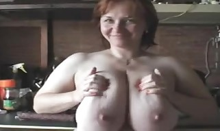 France # A Redhead Mummy with Giant Breasts