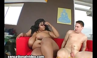 Plumper Crazy Black With Giant Mounds Lubricated