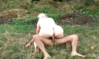 Gigantic Huge Culo Granny gets predominated