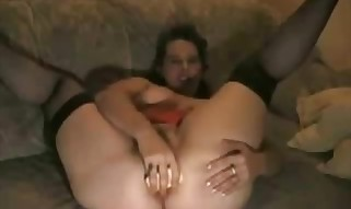 Ass fucking Buttplug Toying 44 Years Housewife Demi